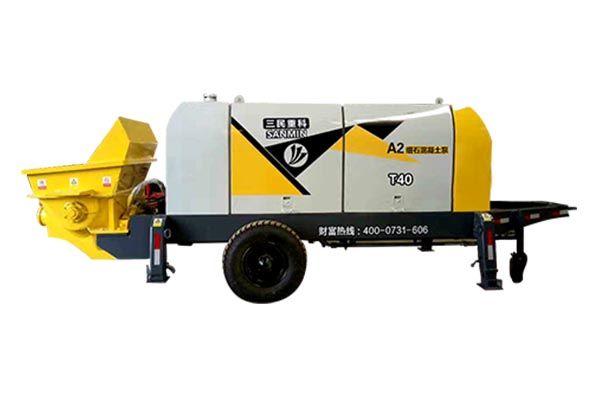 混凝土小型输送泵