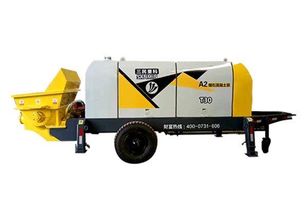 细石混ning土shusong泵-HBT30-10-45